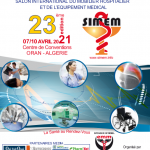 23 éme salon International du Mobilier Hospitalier & de l'Equipement Médical le 07 au 10 Avril 2021, Centre de Convention ORAN